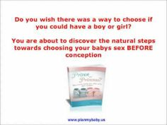 Plan My Baby Review - How To Conceive a Boy or Girl with Plan My Baby