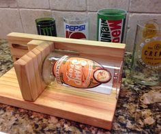 I have wanting to make a bottle cutter for a while now, just because I really like the idea of making glasses from bottles. I found a lot of designs ...
