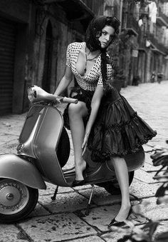 #vespa lady take me away.