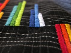Infographic scarf by Kirsten Fering, via Behance