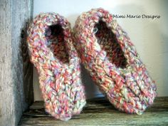 Hand Knit Baby Booties Baby Ballerina by mimimariedesigns on Etsy, $18.00