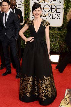 Golden Globes | Julianna Margulies de la colección Resort 2014 de Andrew Gn