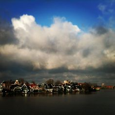 Above Zaandam, Holland