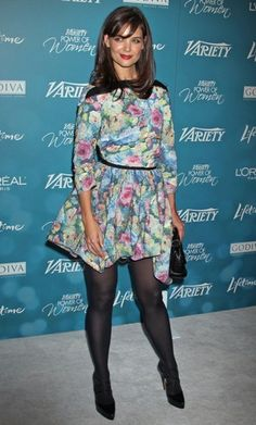 Celebrity styles at the Variety Power of Women Luncheon