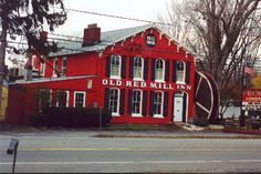 Clarence New York Restaurant Old Red Mill Inn..they have the best Strawberry Soup!