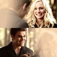 "#TVD 6x13 ""The Day I Tried To Live"" - Caroline and Stefan"