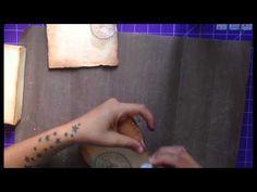 scrapbooking mini álbum con cajita - YouTube