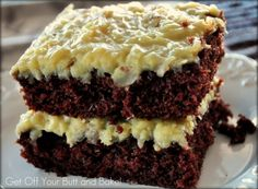 german chocolate cake....my favorite of all cakes