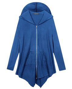WAWAYA Mens Zipper Thicken Winter Longline Hoodie Down Quilted Coat Jacket Overcoat