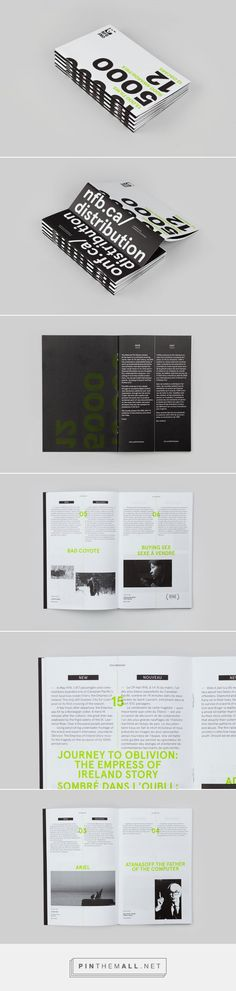 NFB Distribution Catalogue on Behance... - a grouped images picture - Pin Them All