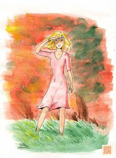 Incendie - Une Révérence. Aquarelle Album, Creations, Painting, Art, January, Felt, Watercolor Painting, Art Background, Painting Art