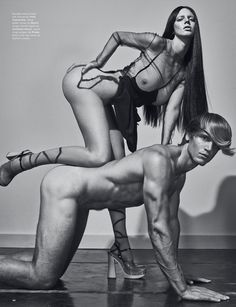 """before you kill us all: EDITORIAL LOVE Magazine #13 """"Boobs"""" by Steven Klein"""