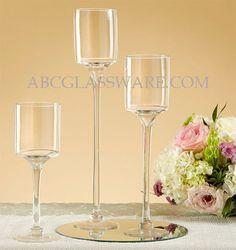 This Glass Pedestal Hurricane will make a fantastic display at your wedding celebration. Use it with a pillar candle to create a more romantic atmosphere Floating Candle Holders, Hurricane Candle Holders, Tealight Candle Holders, Wedding Table Centerpieces, Wedding Centerpieces, Chandelier, Pedestal, Pillar Candles, Tea Lights