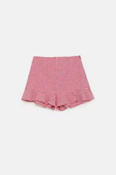Zara, I Got This, Ruffles, Bermuda Shorts, Outdoor Blanket, Pants, Outfits, Clothes, Style