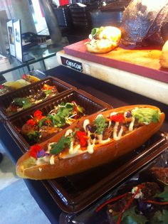 Our delicious Hot-Dog with pork hock filling