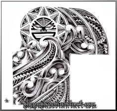 half_sleeve_tribal_by_shepush.jpg 551×524 pixels
