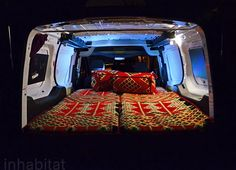 Ford Transit Connect XLT, van conversion, tiny home on wheels, DIY, bedouin, tent, tafline laylin, on the road, climate change, america's green heroes, tafline laylin weekly column, van home, home on wheels, modern day nomad, nomad van, Inhabitat