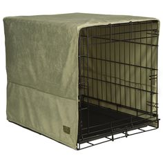 Pet Dreams Sage Plush Crate Cover >>> Review more details here : All pet supplies