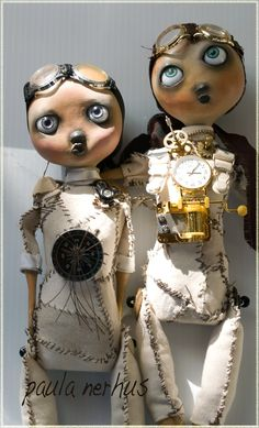 paula nerhus art dolls