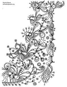 FCB1 Fractals, Zentangle, My Arts, Zentangle Patterns, Zentangles, Tangle Patterns, Zen Tangles, Doodles