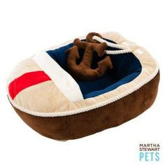 1000 Images About Nautical Pet Bed On Pinterest Pet