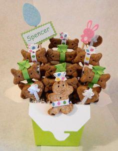 Custom treat baskets for pets etsy group board dog easter basket negle Images