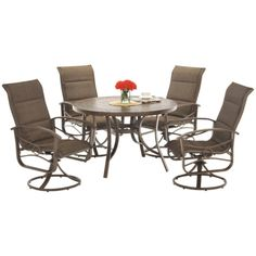 Callaway 5 Pc Patio Set | HOM Furniture