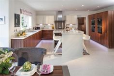5 bedroom detached house for sale in Plot 3 White Friars, Lawnswood Drive, Lawnswood, Stourbridge, West Midlands - Rightmove. New Homes For Sale, Property For Sale, Detached House, Bedroom, Kitchen, Table, Chairs, Furniture, Home Decor
