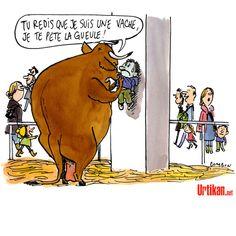Au salon de l'agriculture - Dessin du jour - Urtikan.net