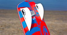The 2013 Liquid Force Overdrive features a full wood core, beautiful graphics, and LF's Liquid Rails. Kitesurfing, Magazine, Board, Magazines, Warehouse, Sign, Tray, Newspaper