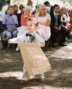 Ring Bearer // Photo: Braedon Flynn Photography // Feature: The Knot