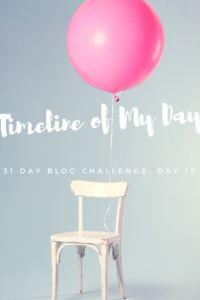 31 Day Blog Challenge--Day 15