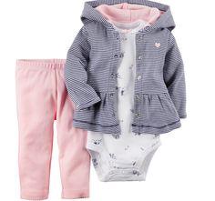 2015 nova carters meninos e meninas 3 pc/set moda bebê roupas $number cores em Conjuntos de Mamãe e Bebê no AliExpress.com | Alibaba Group