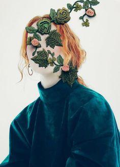 """bienenkiste:  """"The Constant Gardener"""". Photographed by Nhu Xuan Hua for Dansk S/S 2016"""