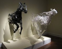 Via my amp goes to 11. Can't find the name of the artist. captures the movement of a gallop wonderfully!