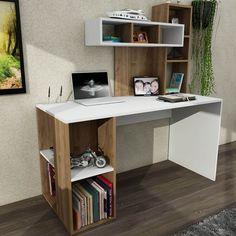 Home Office Furniture: Choosing The Right Computer Desk Small Office Furniture, Study Table Designs, Small Home Offices, Office Table, Cool Rooms, Kingston, Corner Desk, Interior, Home Decor