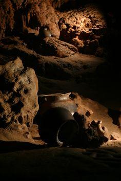 Pots founds at the ATM Cave, Belize. Ancient artifacts of the Maya civilization #belizeadventuretours #belizecavetours
