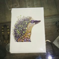 www.facebook.com/jewelsdroitwich. Jewellery and gift shop. One of our new cards! Only two left already! #hedgehog #cards #newstock #jewelsdroitwich #droitwich #Worcestershire #supportlocalbusiness