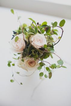 Blush-Rose-Centerpiece