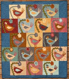"""Bird Brain"" by The Buggy Barn. I have made a quilt by the Buggy Barn-love them!"