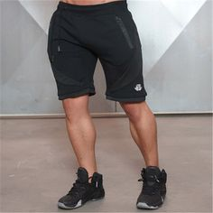 Men's Breathable Fitness Shorts