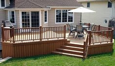 Backyard deck. Attach to wrap around porch. Earn it! Referral Number: 61236154 https://www.life-leadership-home.com/enroll/customerenrollment.aspx?SponsorID=61236154