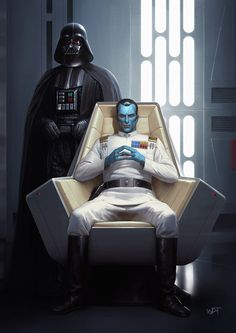 A new series of SW fan art I did for this year's May the celebration and STGCC Who would you prefer to be your boss? Grand Admiral Thrawn, master military tactician and Grand Admiral of the Fleet, or Grand Moff Wilhuff Tarkin, governor Star Wars Jedi, Star Wars Rebels, Rpg Star Wars, Star Wars Fan Art, Grand Admiral Thrawn, Ahsoka Tano, Grande Almirante Thrawn, Metal Gear, Thrawn Star Wars