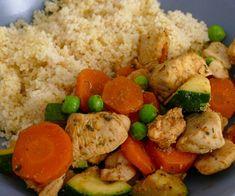 Čo na obed? Kuskus so zeleninou a kuracími prsiami. Ale, Food And Drink, Chicken, Fitness, Recipes, Diet, Ale Beer, Ripped Recipes