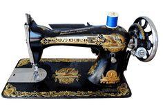 machine à coudre SINGER Egyptomania vers 1900