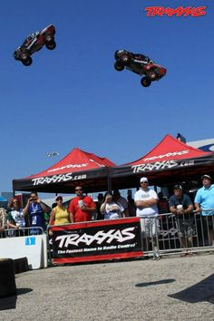 High-Flying Traxxas Demo Area