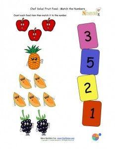 Fruit and vegetable worksheet for kids | Crafts and Worksheets for Preschool,Toddler and Kindergarten