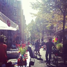 Street flohmarkt in Hannover Germany (where I live). by decor8, via Flickr