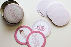 Presentes e Mimos - Jogo da memória Ballet - bailarina - www.tuty.com.br #tuty #jogo #memoria