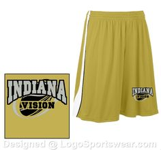 2ae70389a My Saved Design - Adult Triple Double Reversible 11 Inch Short. Team  UniformsCustom ...